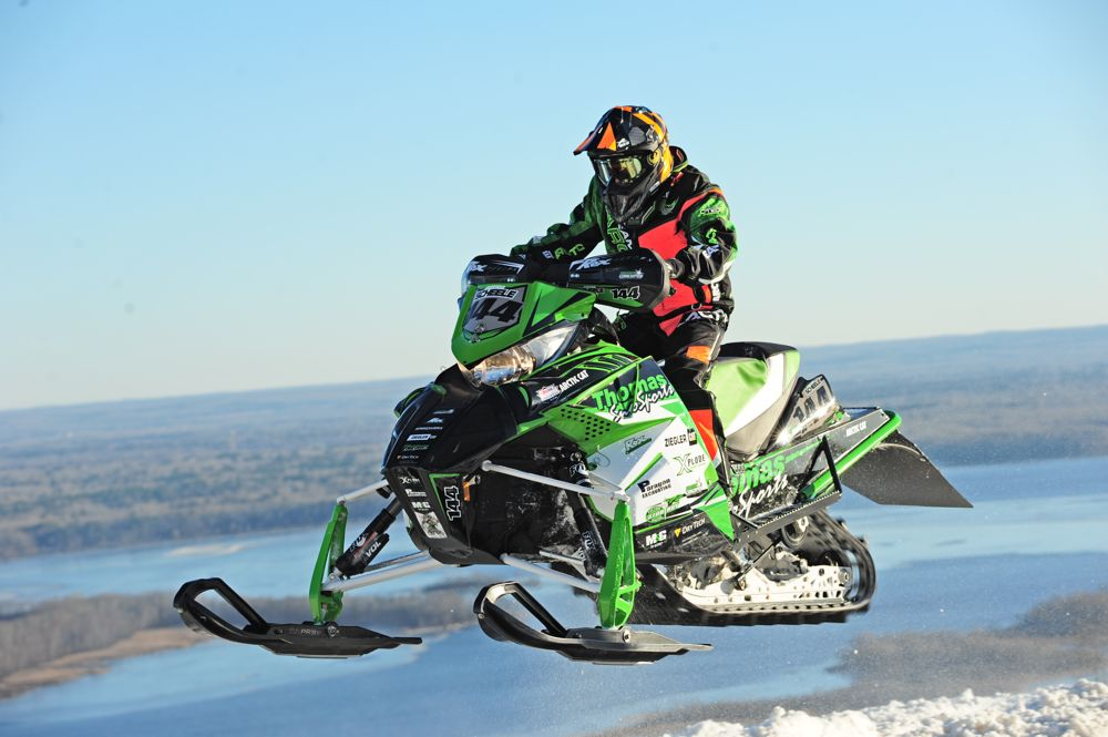 Team Arctic Cat's Anson Scheele. Photo by ArcticInsider.com