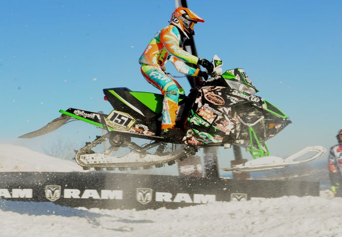 Team Arctic Cat's Ryley Bester. Photo by ArcticInsider.com
