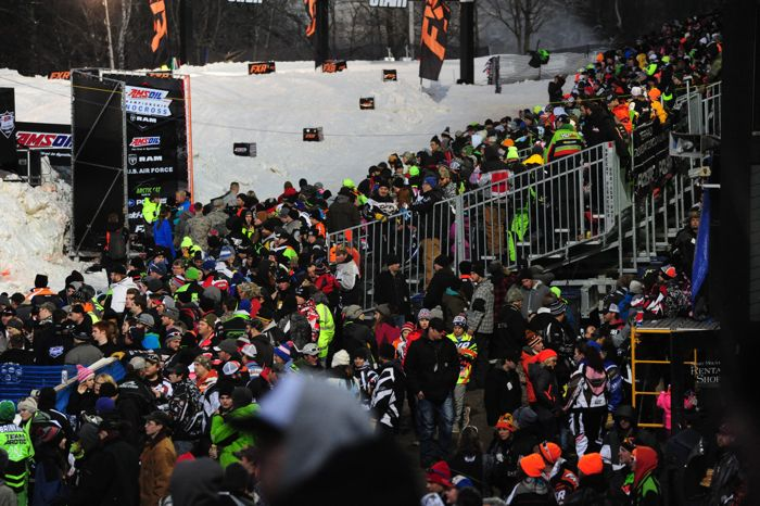 Duluth Spirit National Snocross 2015. Photo by ArcticInsider.com