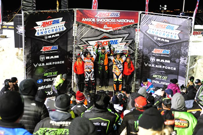 Tucker Hibbert Monster Energy Arctic Cat. Photo by ArcticInsider.com