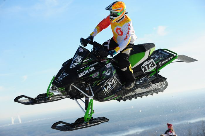 Team Arctic Cat's Corey Watkinson. Photo by ArcticInsider.com