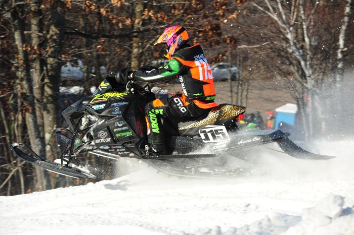 Team Arctic Cat's David Joanis. Photo by ArcticInsider.com