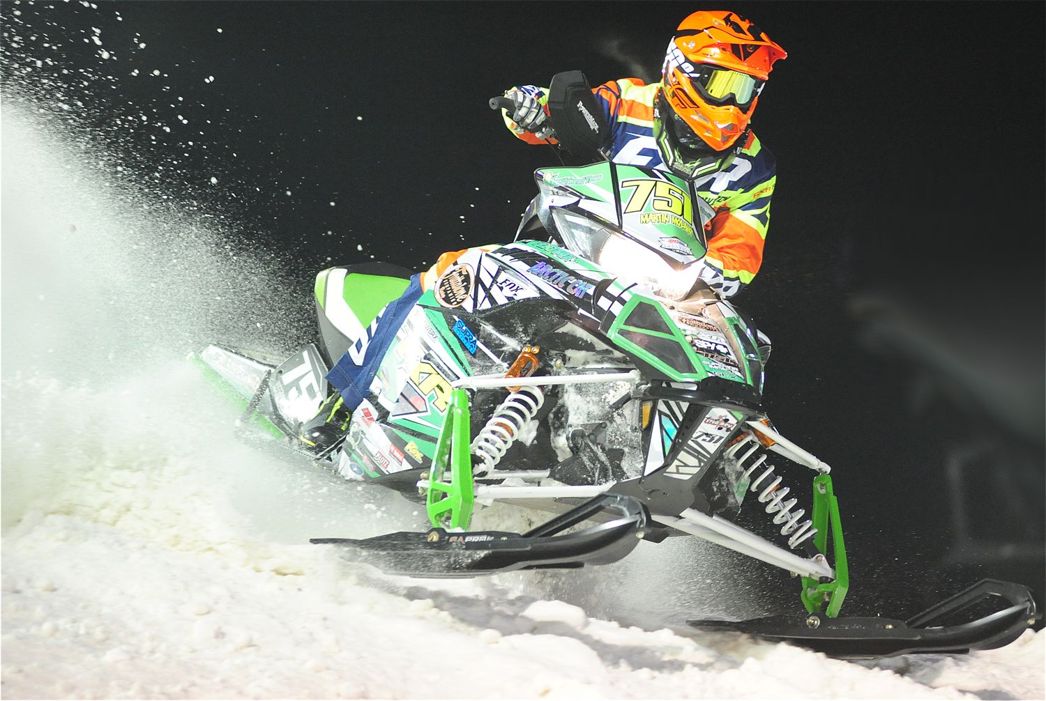 Team Arctic Cat's Martin Moland. Photo by ArcticInsider.com