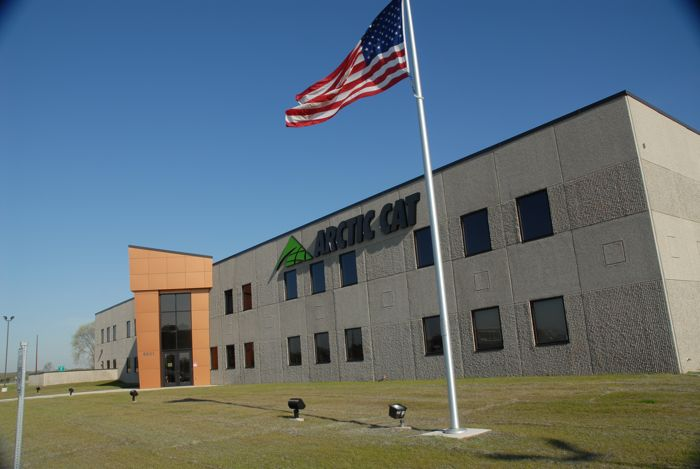 Arctic Cat's St. Cloud, Minn., facility. Photo by ArcticInsider.com