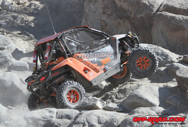 Team Arctic Wildcat driver Dean Bulloch finishes 4th at King of Hammers.