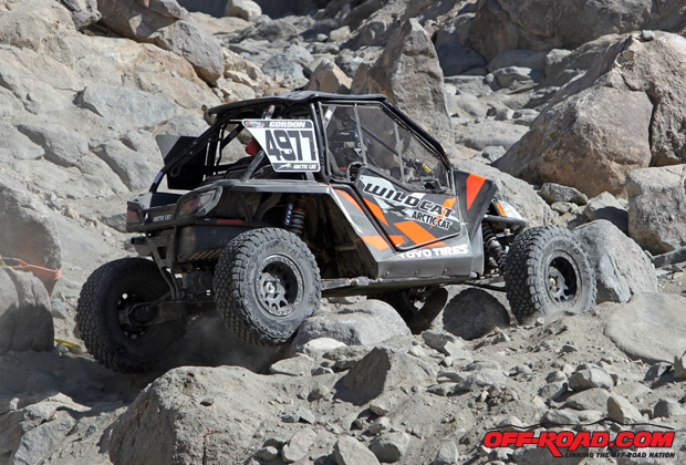 Team Arctic's Robby Gordon at the 2016 King of Hammers in his Wildcat.
