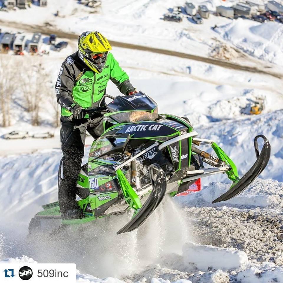 Team Arctic Hillclimber David McClure.