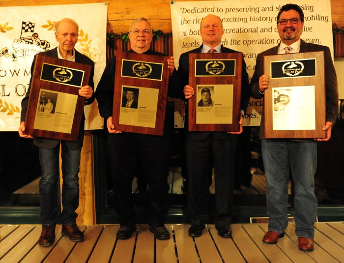 2016 Snowmobile Hall of Fame Inductees. Photo by ArcticInsider.com