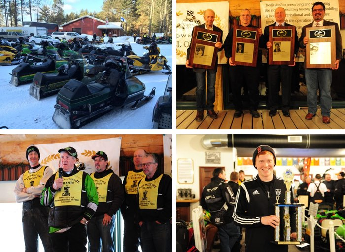 Snowmobile Hall of Fame weekend. Photo by ArcticInsider.com