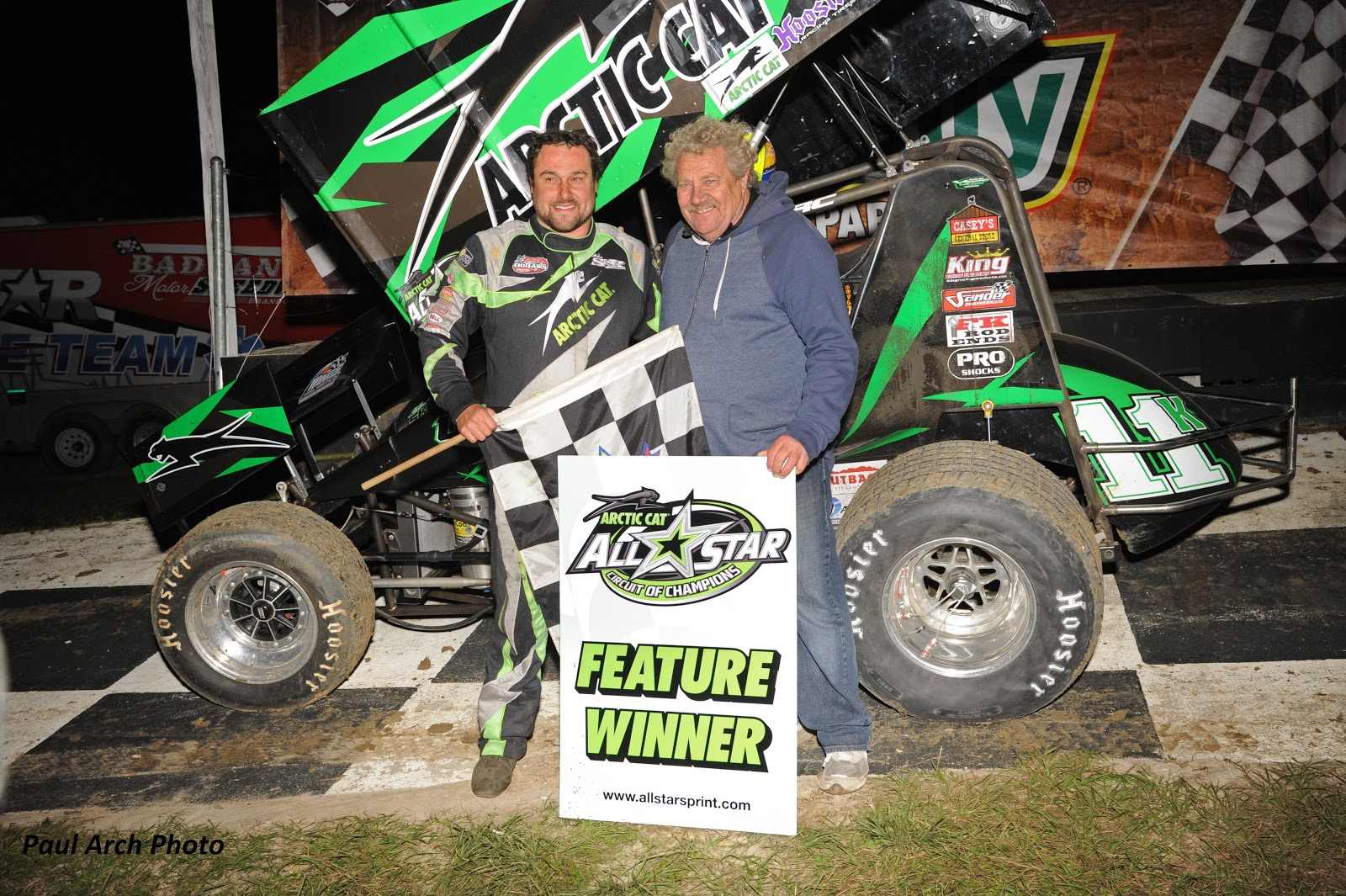 Arctic Cat and Steve Kinser Racing for 2016