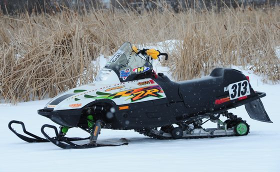 Brain's sweet Arctic Cat ZR 600.