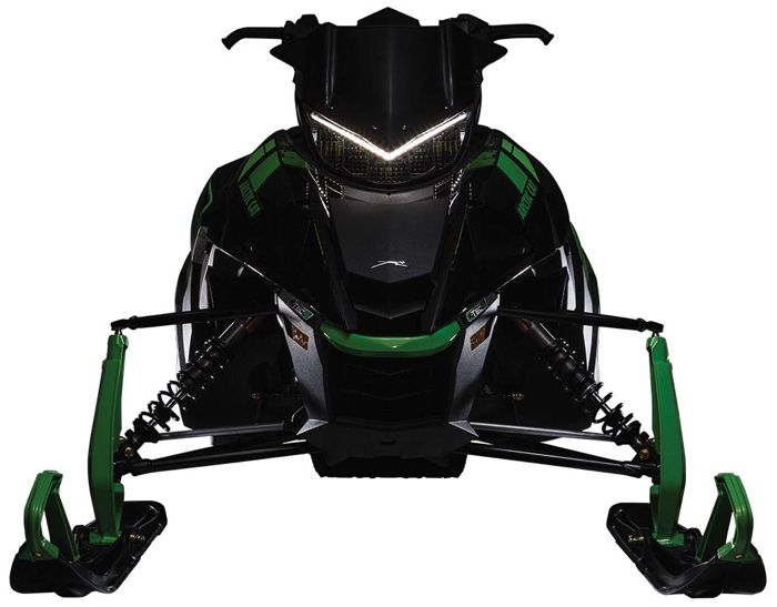 2017 Arctic Cat LED headlight on 9000 and RS Edition sleds.