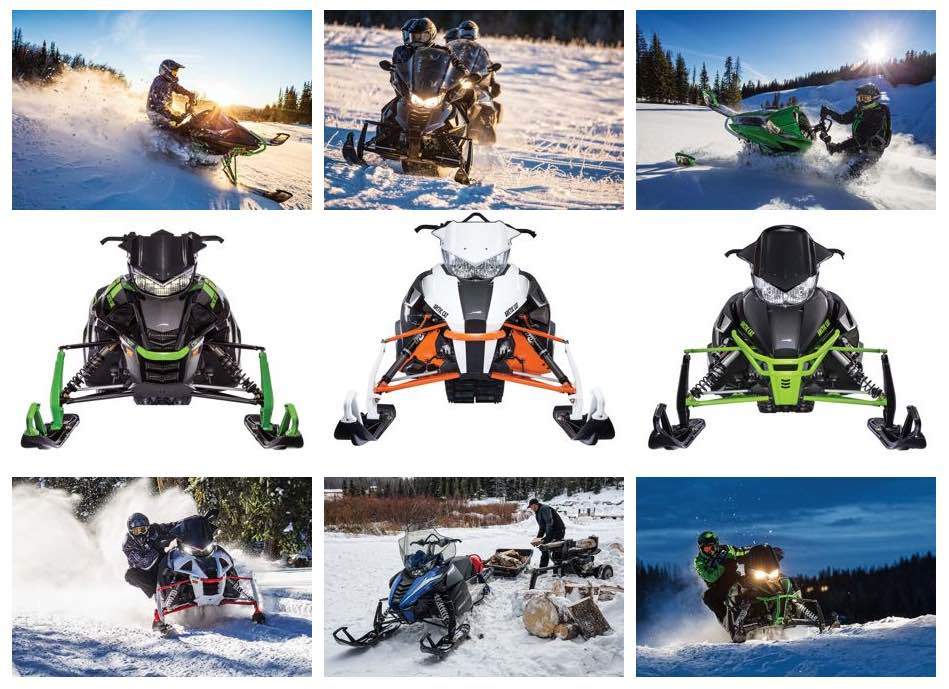 2017 Arctic Cat Snowmobiles