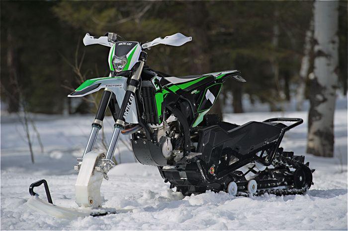2017 Arctic Cat SVX 450 Snow Bike.