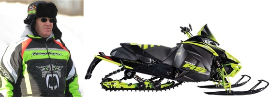 2017 Arctic Cat Roger Skime Edition ZR 6000