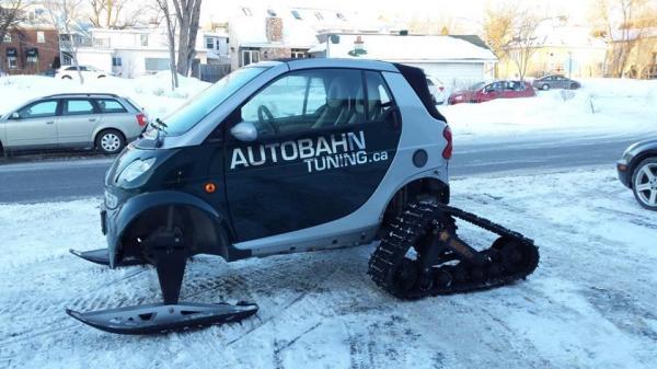 Smart snowmobile?