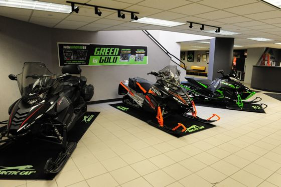 Arctic Cat in Thief River Falls. Photo by ArcticInsider.com