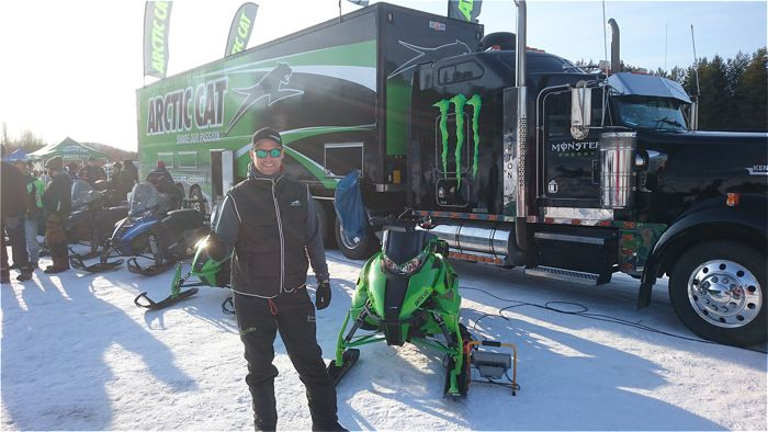 Arctic Cat show in Sweden.