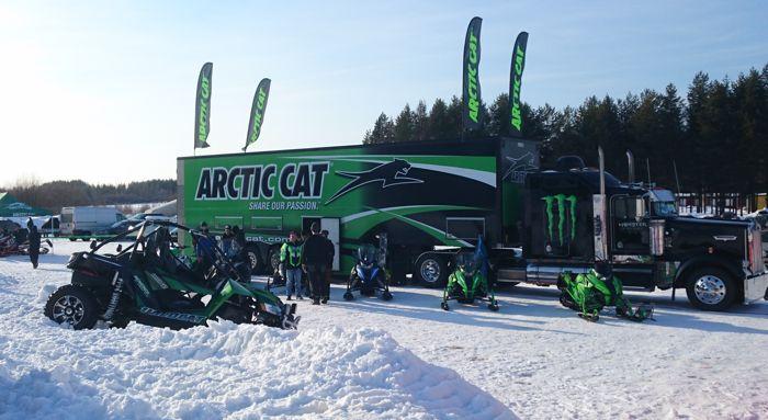 2017 Swedish Arctic Cat Snowmobile Show