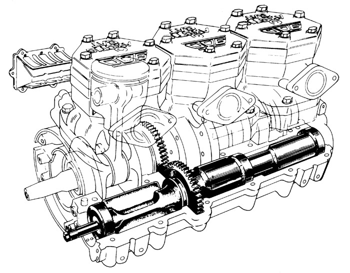 Suzuki 900cc Thundercat triple circa 1993