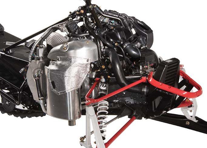 2017 Arctic Cat Thundercat powered by the 180-hp Yamaha turbo triple