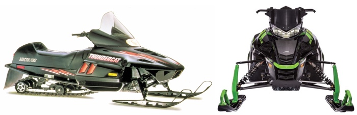 Arctic Cat Thundercat: Then and Now.