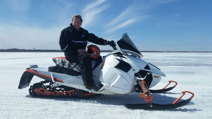 Jim Dimmerman rides the 2017 Arctic Cat 9000 Thundercat. Photo by ArcticInsider.com