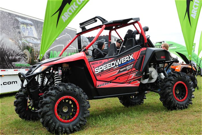 Speedwerx-Arctic Cat 800 2-stroke Wildcat Sport. Photo by ArcticInsider