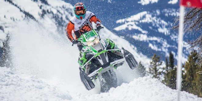 Team Arctic's Todd Tupper triples at Crazy Horse. Photo by RLT.