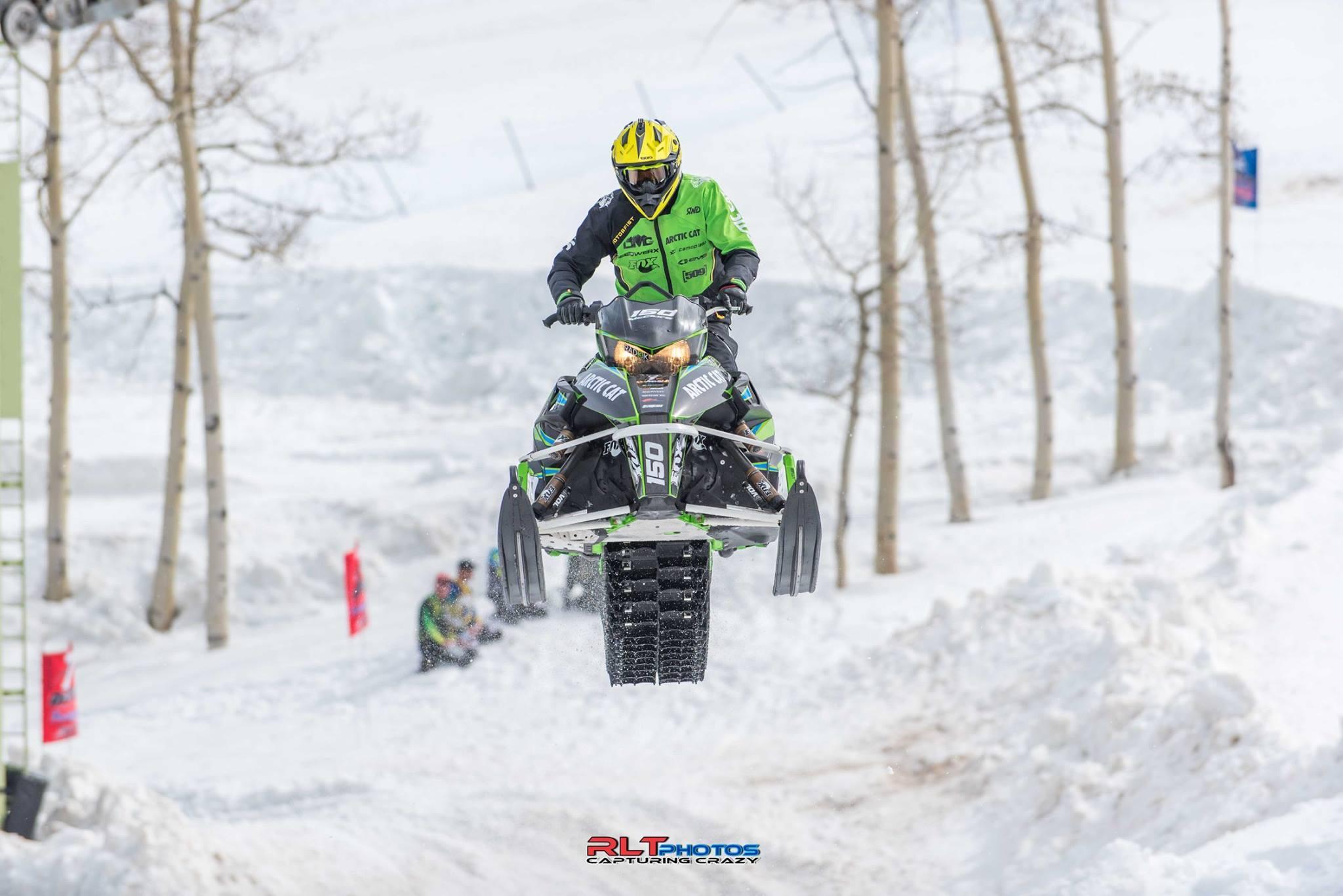 Team Arctic's David McClure wins Crazy Horse 2016. Photo by RLT Photos.
