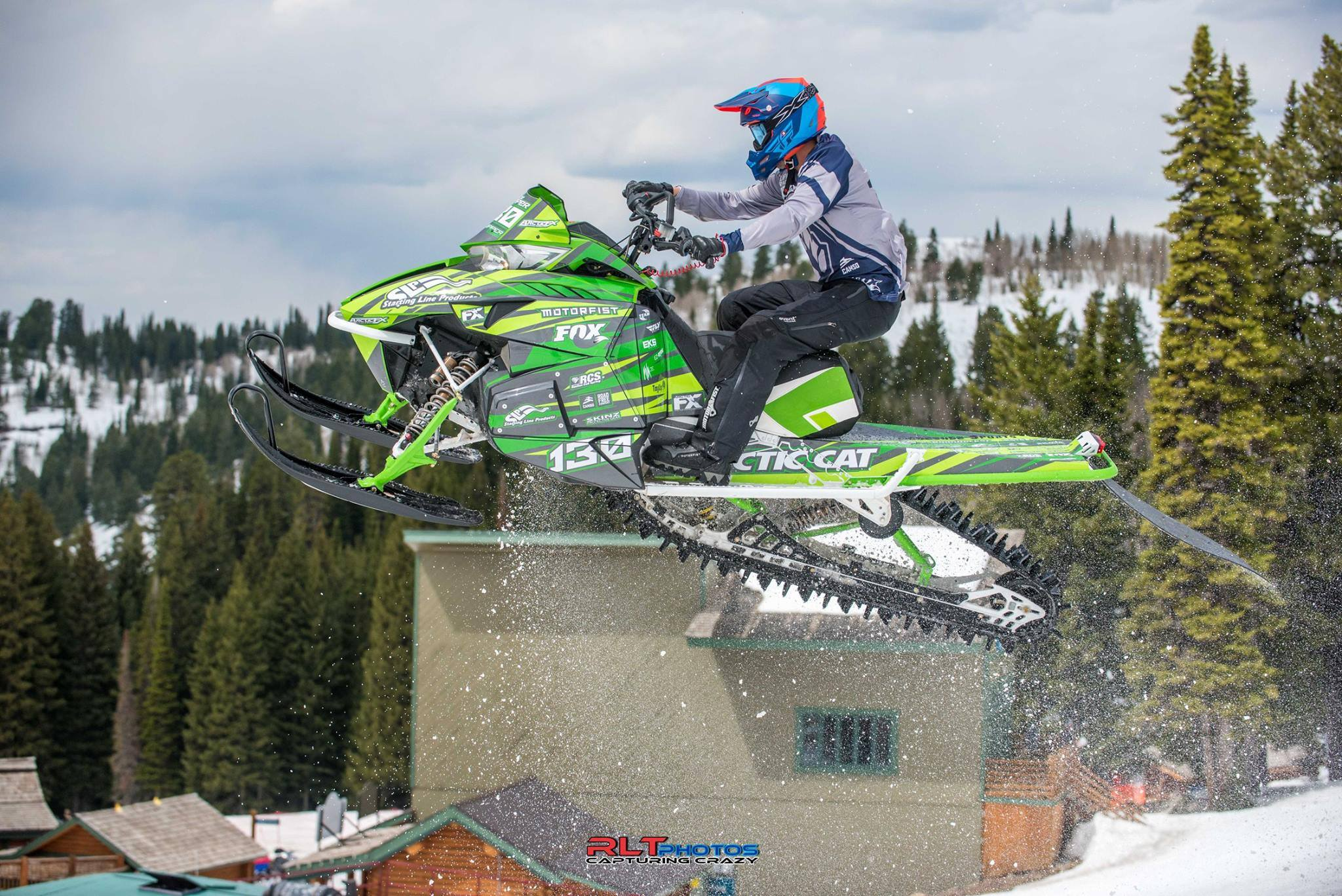 Team Arctic Cat's Trace Tupper wins at Crazy Horse. Photo by RLT.