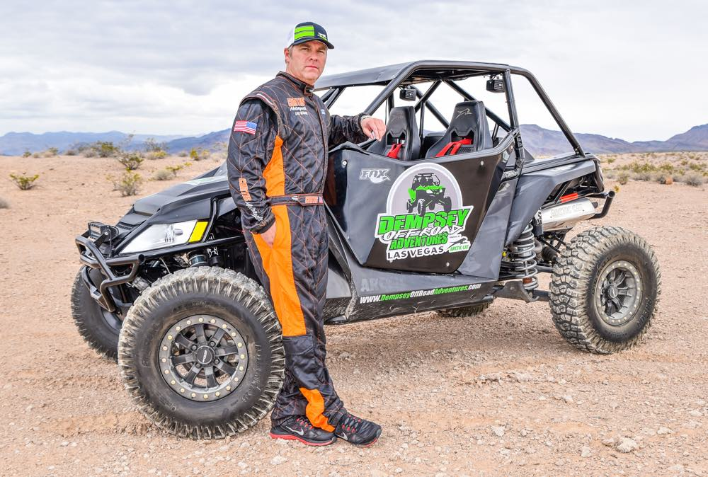 Arctic Cat partners with Chuck Dempsey.