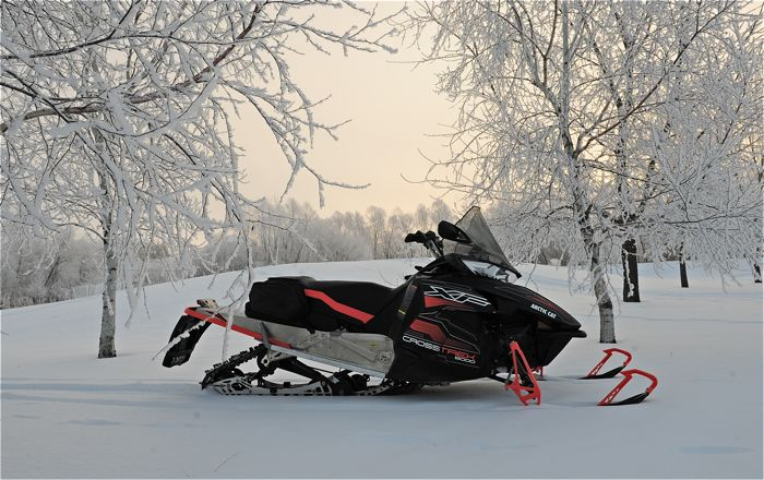 2016 Arctic Cat Crosstrek 800. Photo by ArcticInsider.com