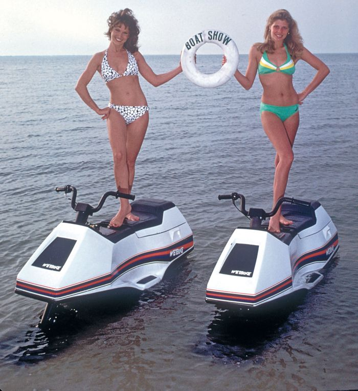 Arctic Cat WetBike ladies looking for $15.5 million reasons to celebrate.
