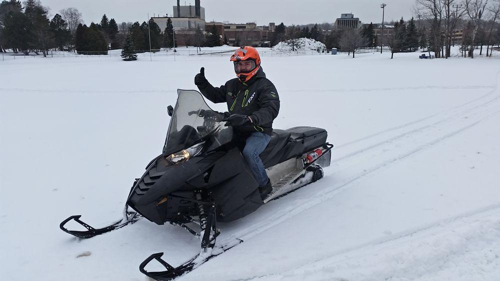 UMD Clean Snowmobile Challenge Team.