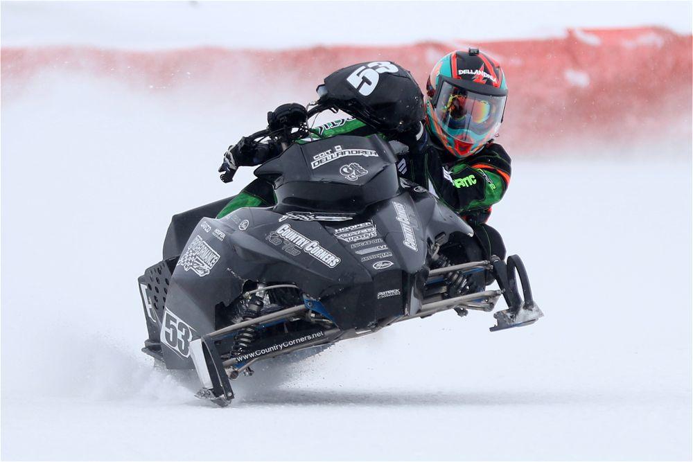 Team Arctic Champ racer Colt Dellandrea