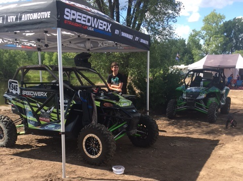 Speedwerx Jeremy Houle and Alex Fortune at TORC ERX.