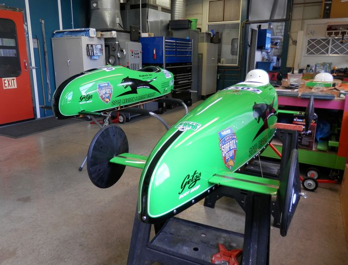 Getz Arctic Cat Soap Box Derby cars.