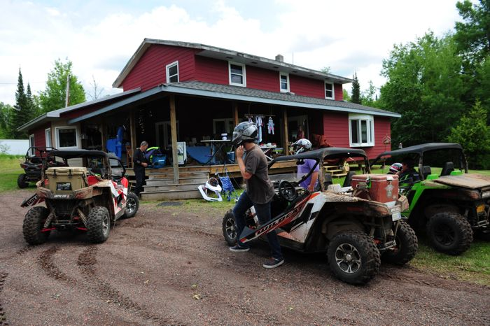 Arctic Cat Wildcat ride on Minnesota's North Shore. Photo by ArcticInsider.com
