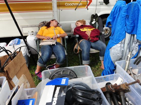 Great napping at hay days. Photo by ArcticInsider.com