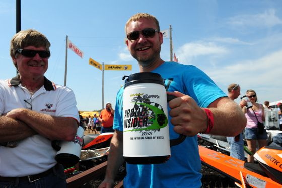 Get your beer (mug) at hay days. Photo by ArcticInsider.com