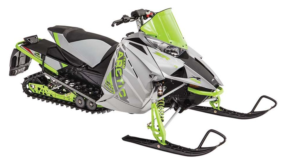 2017 Arctic Cat ZR 6000R XC race sled. Photo at ArcticInsider.com