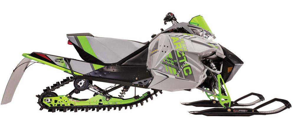 2017 Arctic Cat ZR 6000R SX race sled. Photo at ArcticInsider.com
