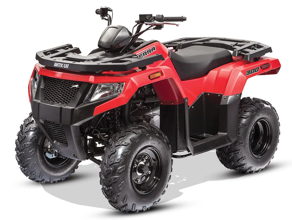 2017 Arctic Cat Alterra 300 ATV. Photo at ArcticInsider.com