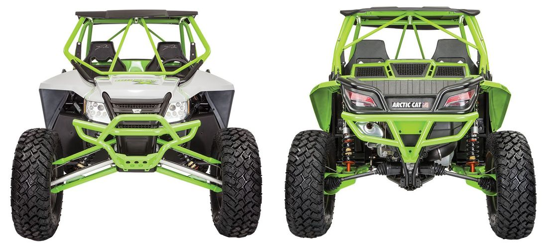 2017 Arctic Cat Wildcat X Limited with RG PRO rear suspension. Photo at ArcticInsider.com