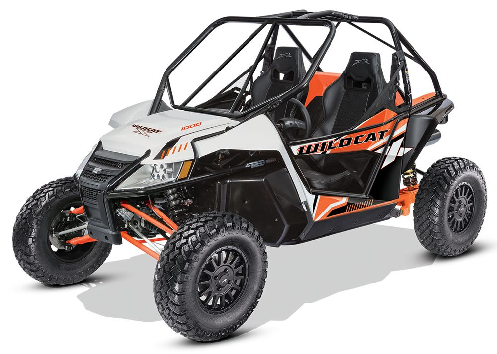 2017 Arctic Cat Wildcat X EPS with RG PRO rear suspension. Photo at ArcticInsider.com