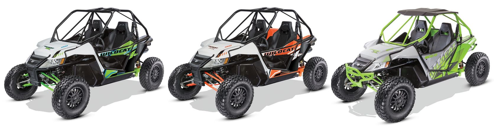 2017 Arctic Cat Wildcat X EPS models. Photo at ArcticInsider.com