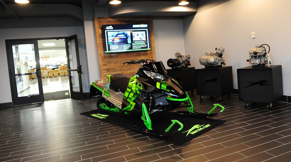 Arctic Cat's expanded St. Cloud facility. Photo by ArcticInsider.com