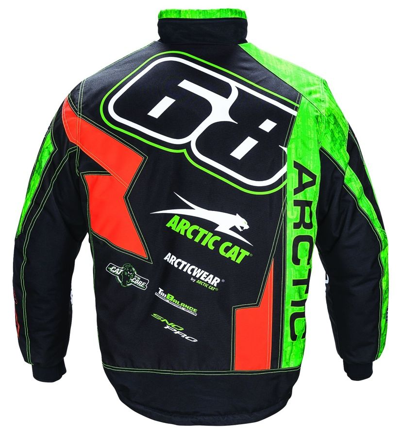Team Arctic Hibbert Jacket for 2017 from Arctic Cat