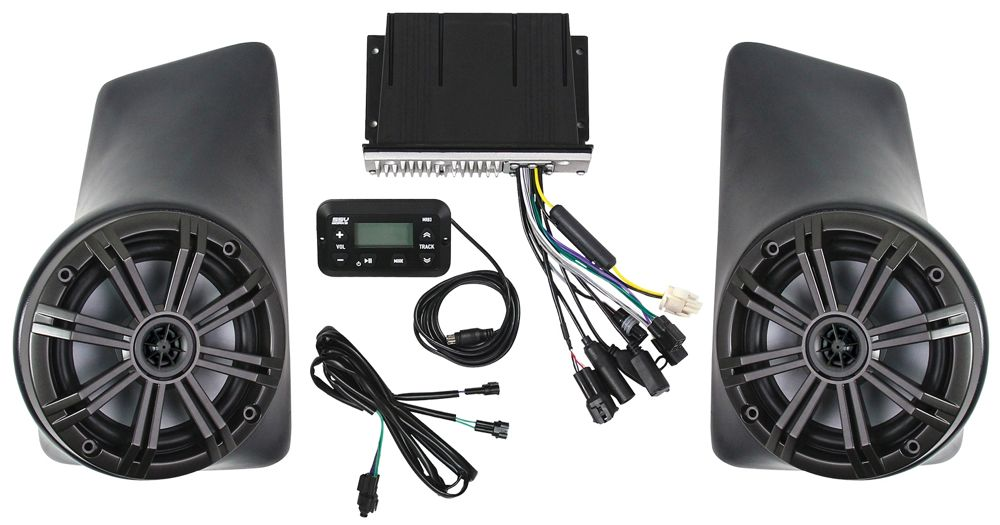 KICKER/SSV Works Audio Package from Arctic Cat